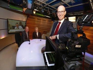 UPC welcomes new look Oireachtas TV Pictured: Ceann Comhairle Sean Barrett, presenter John Bowman and Magnus Ternsjö, CEO of UPC Ireland